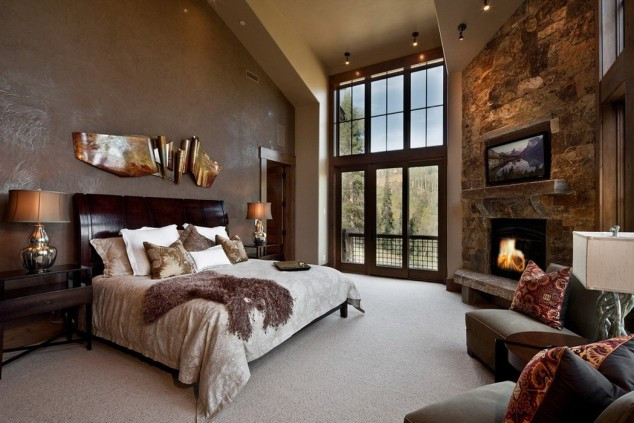 Elegant Modern attic Ideas 15 Elegant and Inspiring Master Bedroom Fireplace Ideas