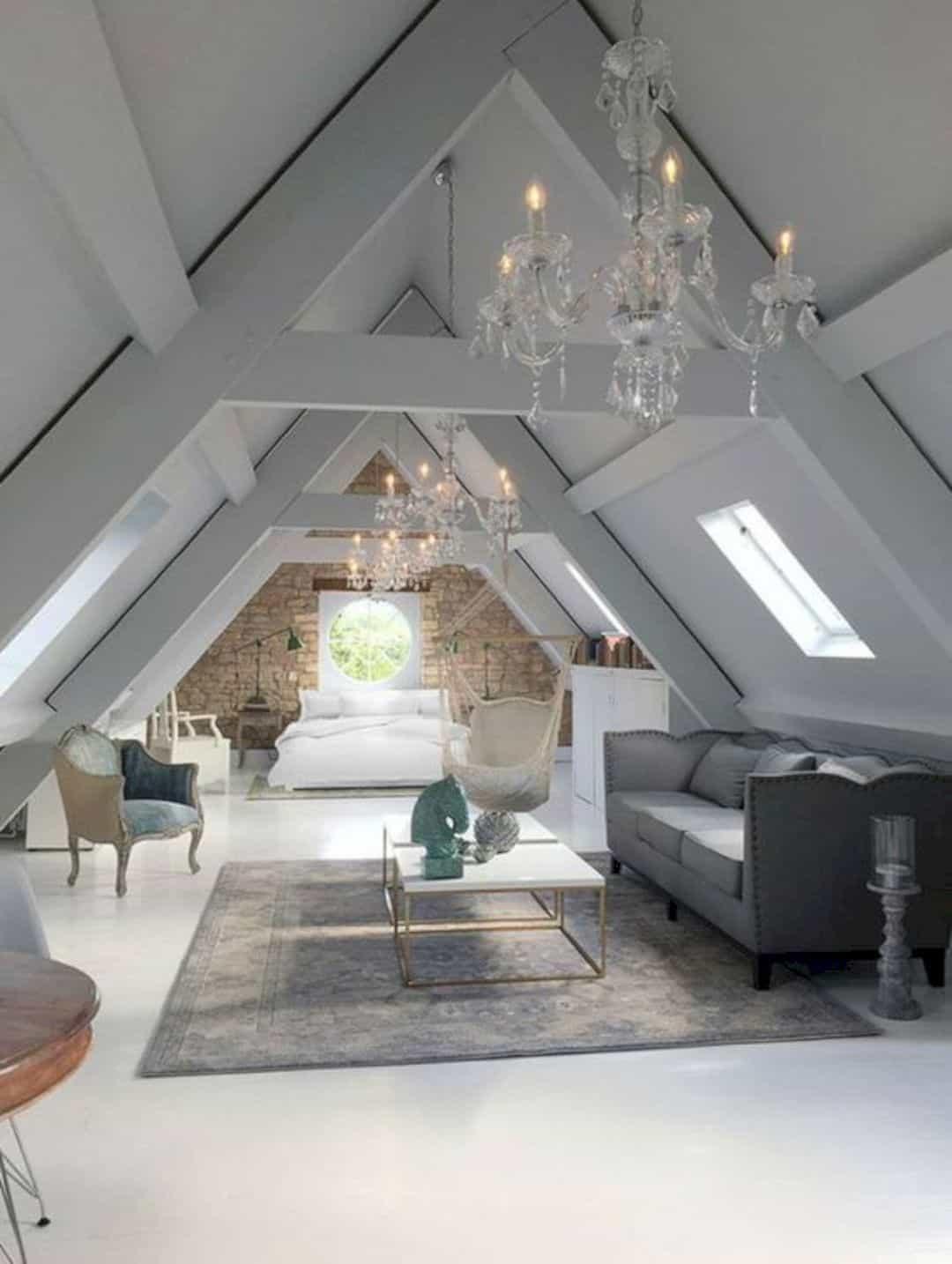 Elegant Modern attic Ideas 16 Stunning attic Renovation Ideas