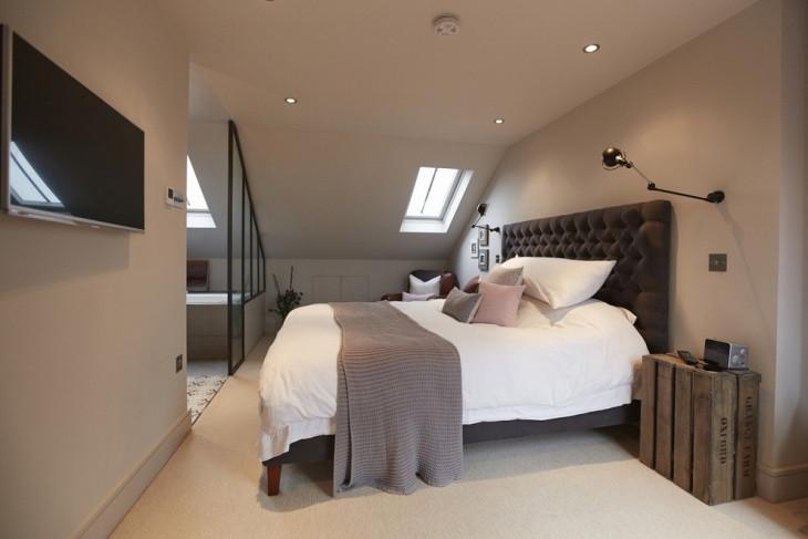 Elegant Modern attic Ideas 18 Loft Style Bedroom Designs Ideas