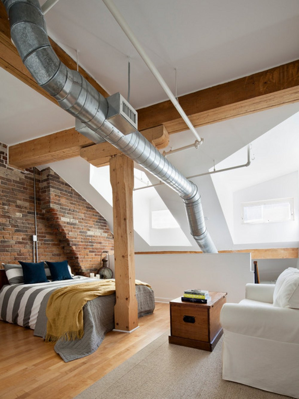 Elegant Modern attic Ideas 25 Industrial Bedroom Interior Designs for Elegant Bedroom