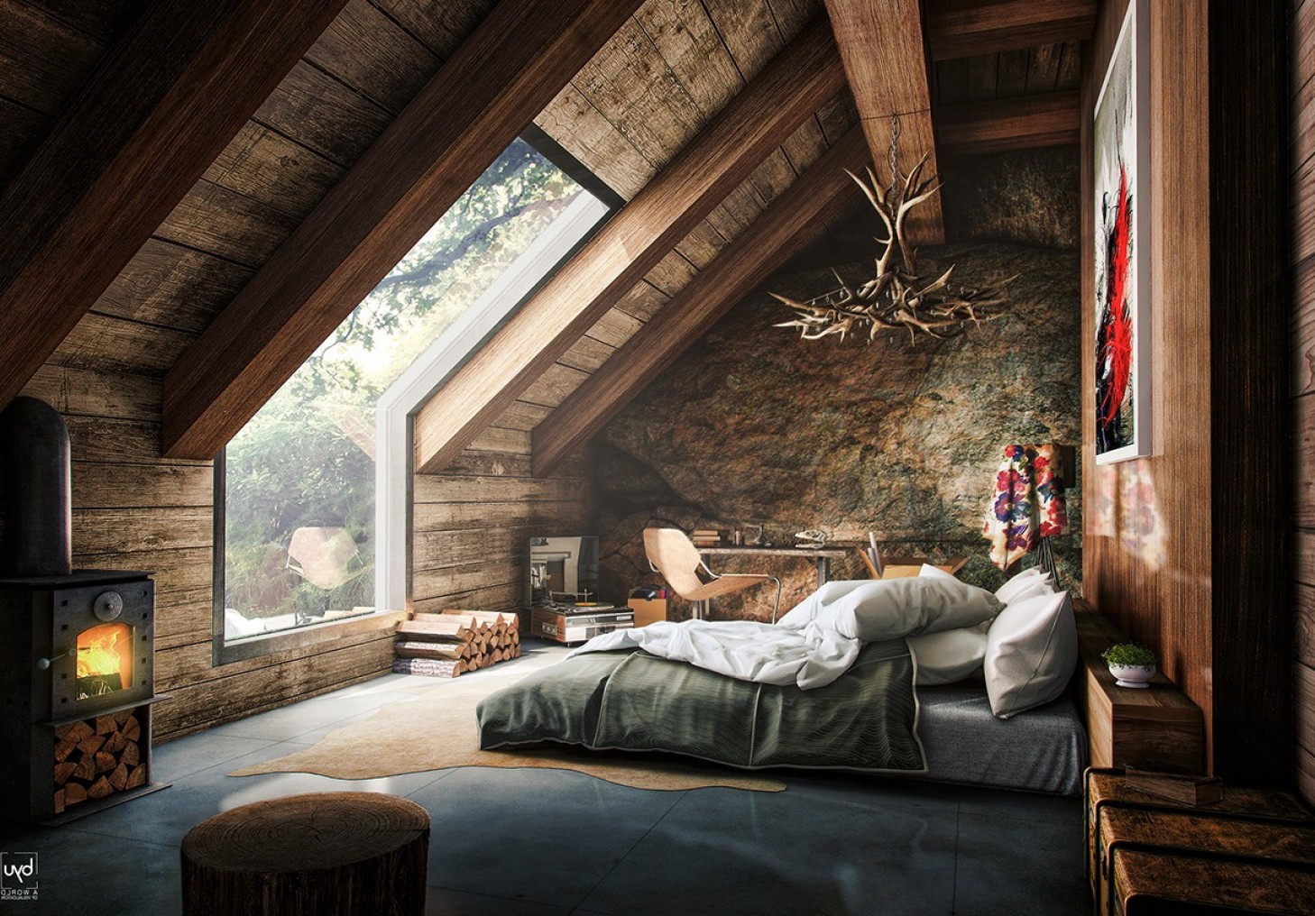 Elegant Modern attic Ideas 26 Luxury Loft Bedroom Ideas to Enhance Your Home