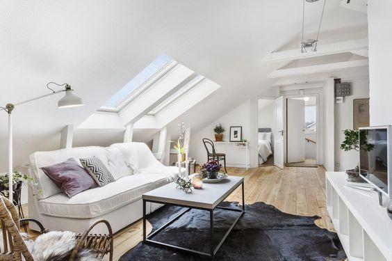 Elegant Modern attic Ideas 26 Stylish attic Living Rooms Decor Ideas Shelterness