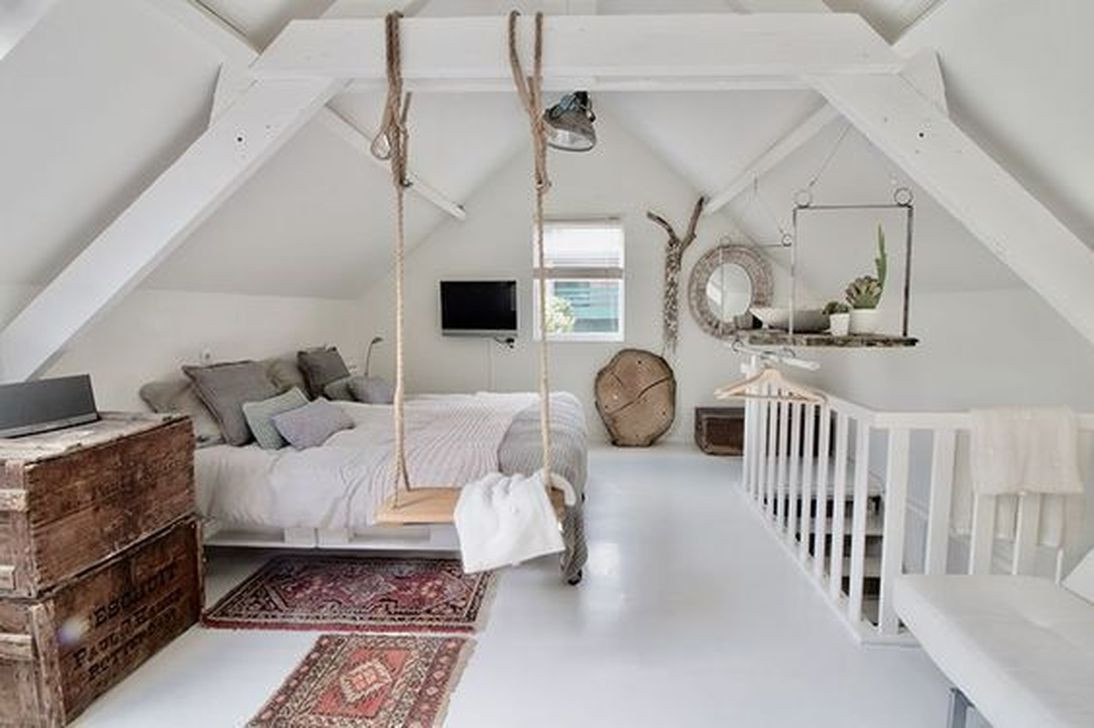 49 Elegant Modern Attic Ideas