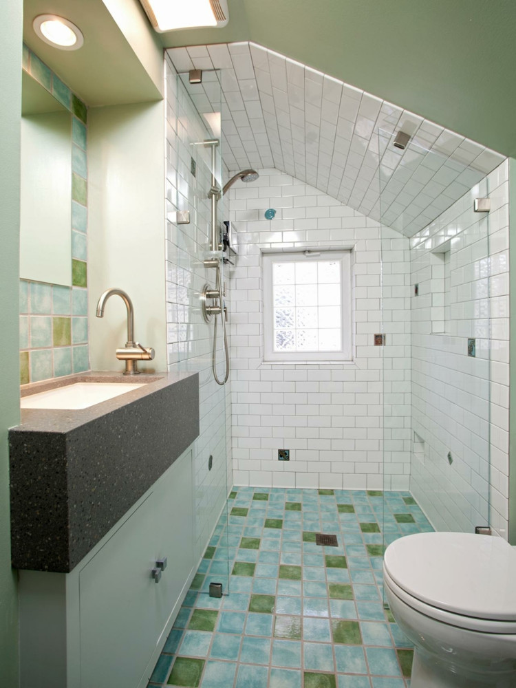 Elegant Modern attic Ideas Badezimmer Fliesen Lackieren 37 Ideen Für Motive & Muster