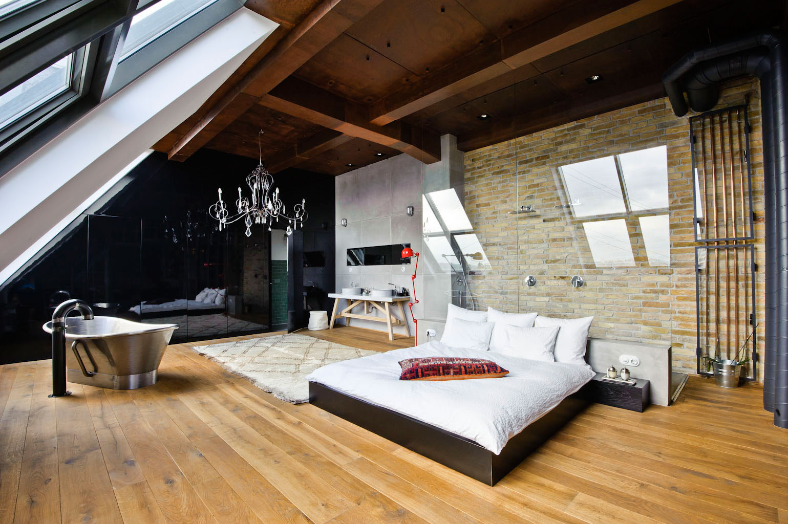 Elegant Modern attic Ideas Loft Bedrooms Ideas and Contemporary Interior Design