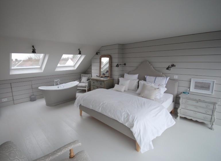 Elegant Modern attic Ideas Loft Interiors with Marvelous Bedrooms – Master Bedroom Ideas