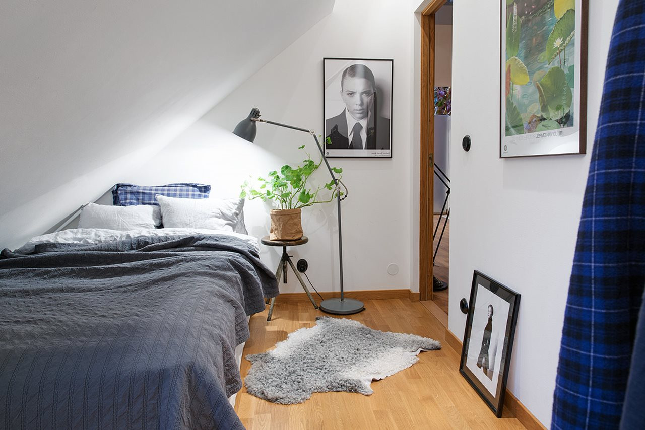 Elegant Modern attic Ideas Modern attic Apartment In the Scandinavian Style