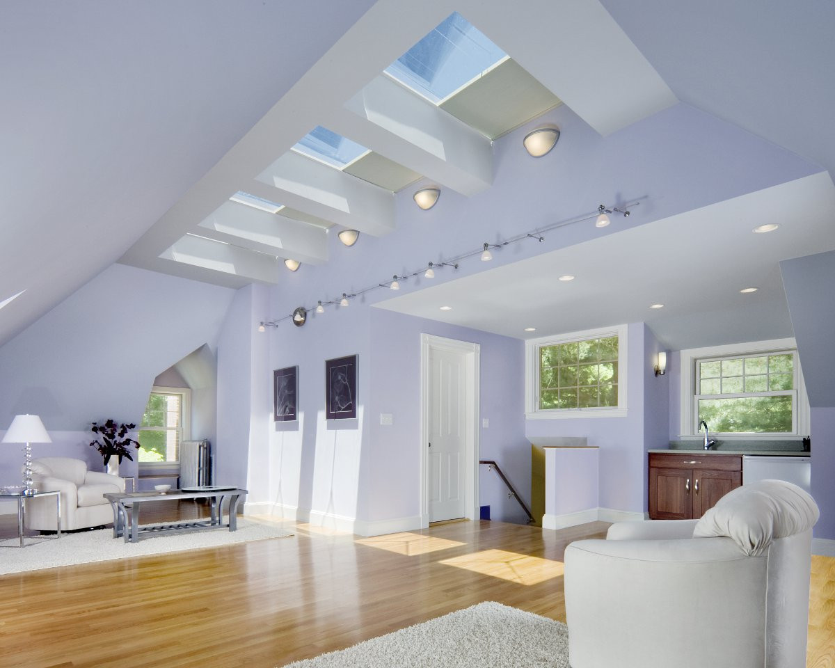 Elegant Modern attic Ideas Modern attic Renovation
