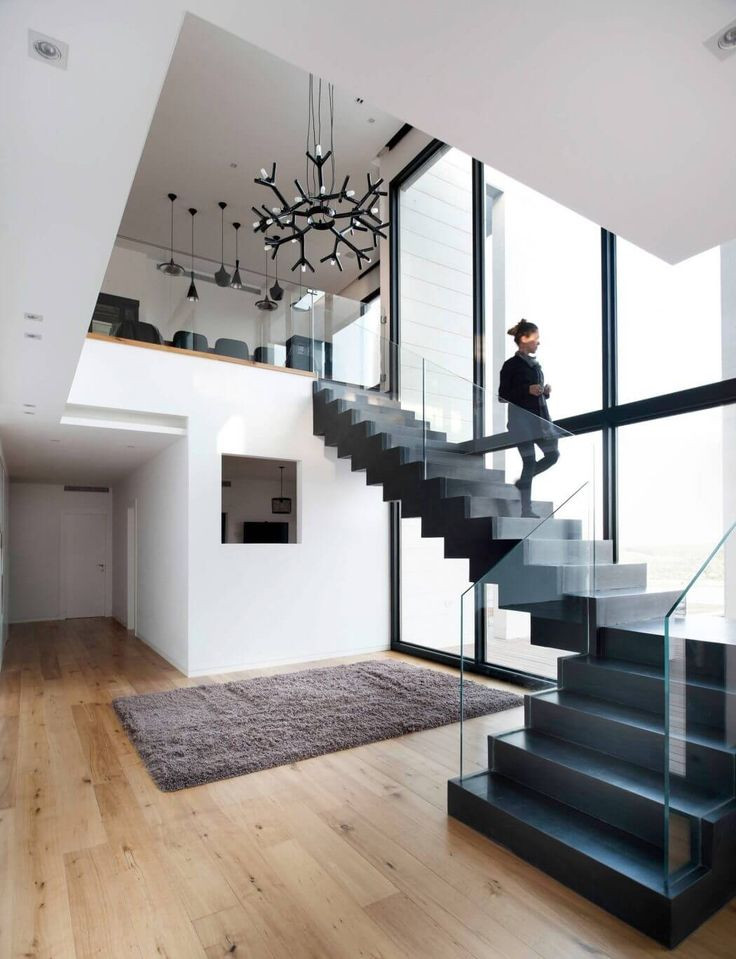 Glass Stairs Ideas 1000 Ideas About Glass Stair Railing On Pinterest