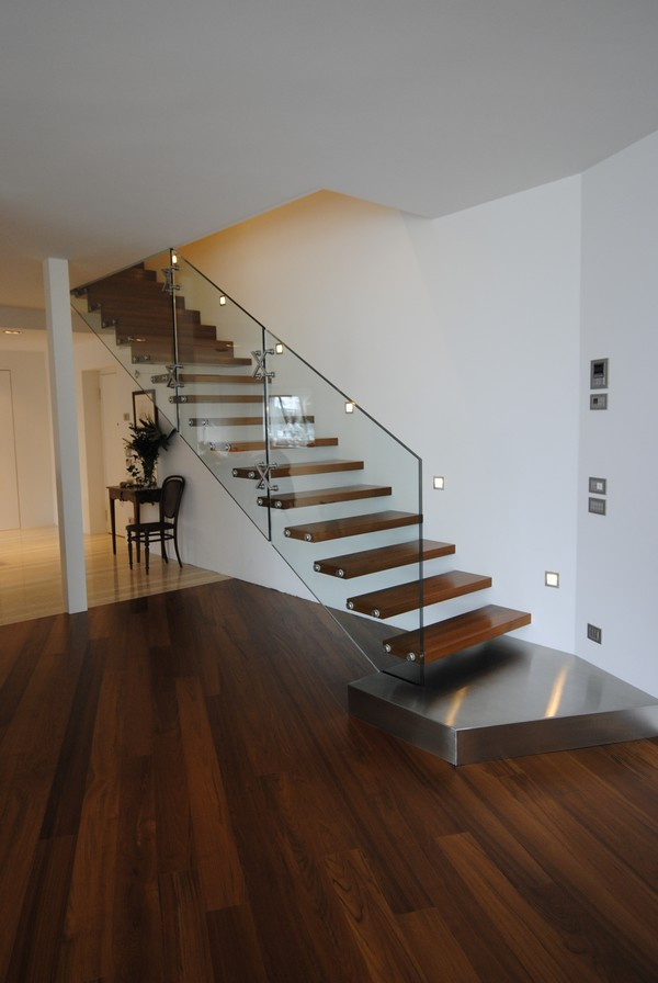 Glass Stairs Ideas 15 Modern Staircases for Your Home