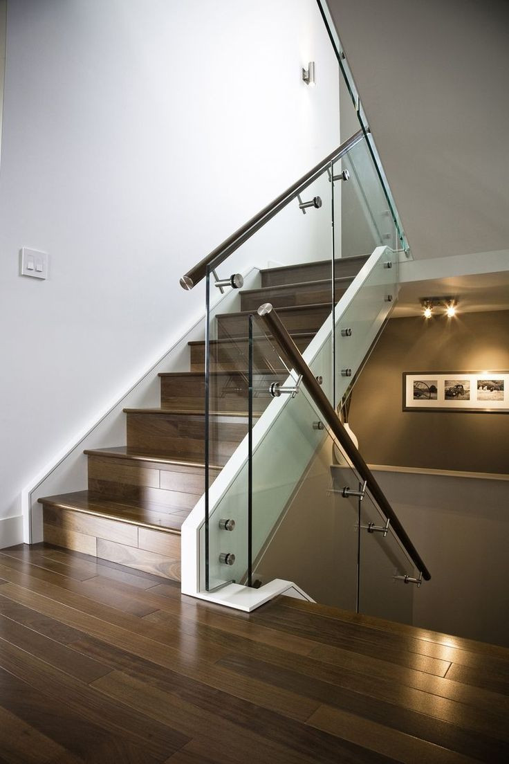 Glass Stairs Ideas 17 Best Ideas About Glass Stair Railing On Pinterest