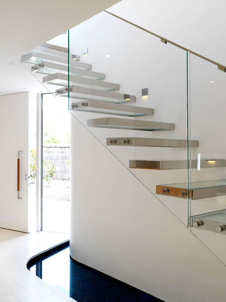 Glass Stairs Ideas 30 Immagini Di Scale Interne Con Ringhiere In Vetro