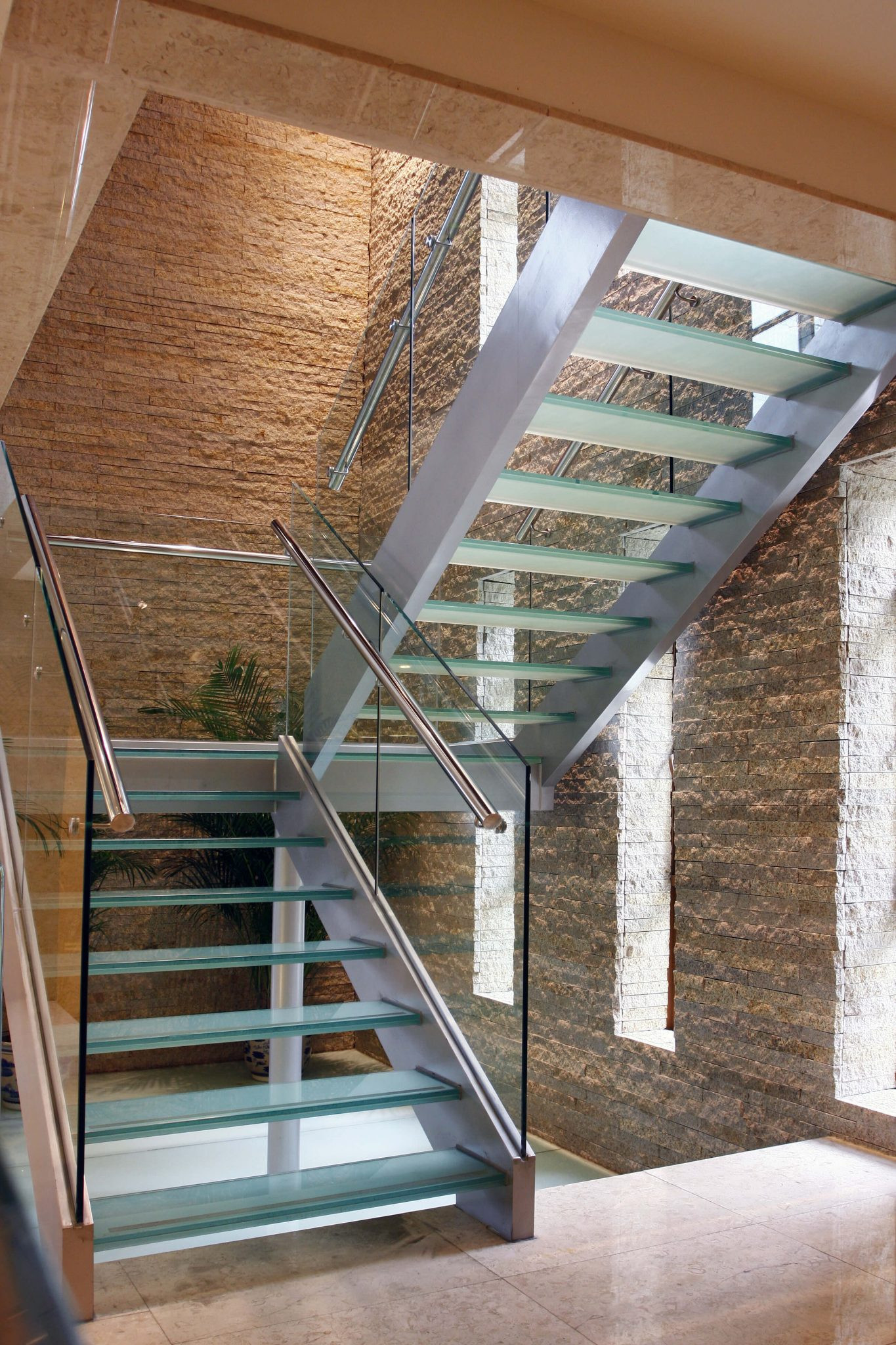 Glass Stairs Ideas 33 Flamboyant Modern Staircase Designs