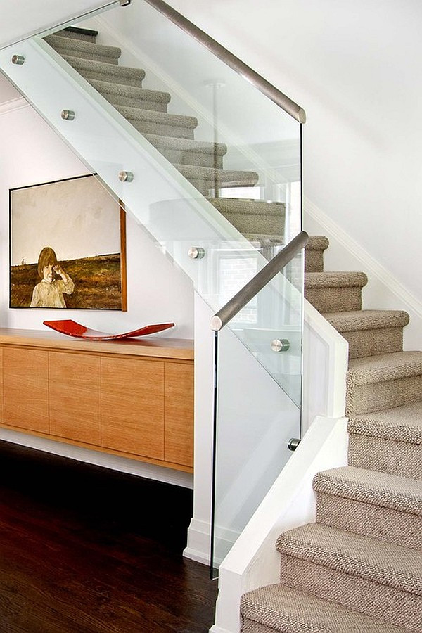 Glass Stairs Ideas Choosing the Perfect Stair Railing Design Style