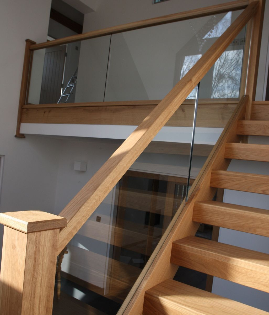 Glass Stairs Ideas Glass Stair Banisters Stairs