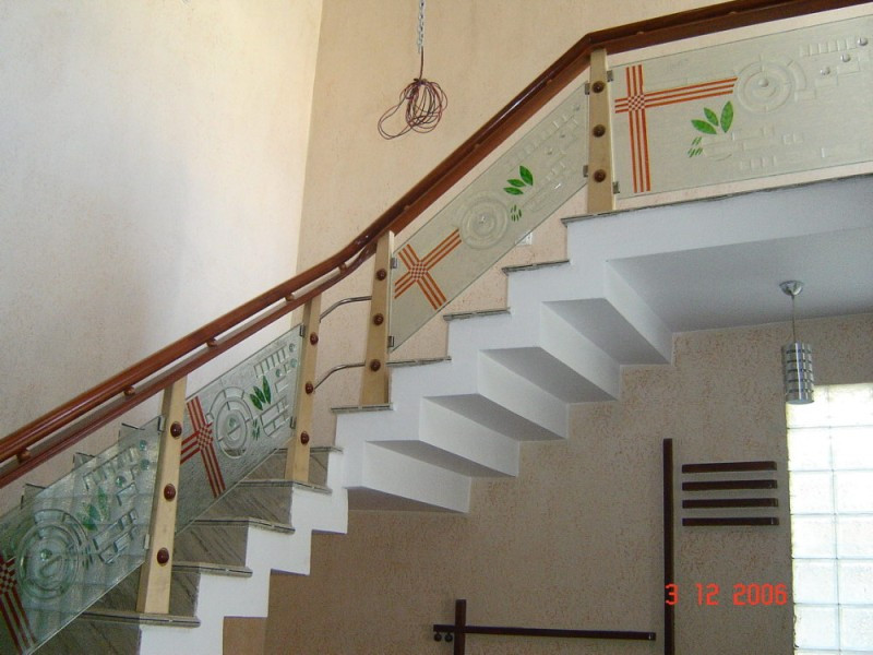 Glass Stairs Ideas Modern Stair Railing