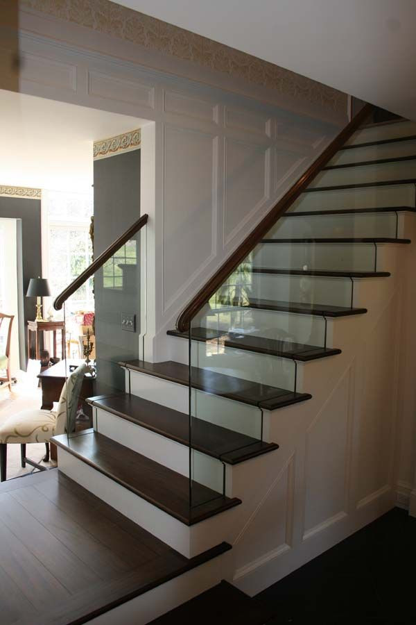 Glass Stairs Ideas My Stair Railing Design Using Glass to Plement