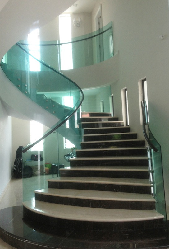 Glass Stairs Ideas Staircase Glass Design