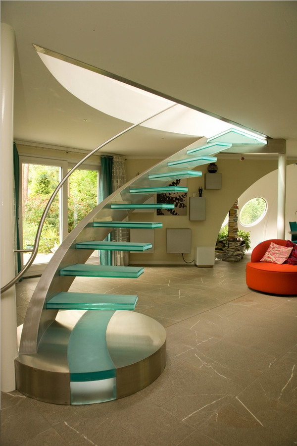 Glass Stairs Ideas the Stunning Beauty Of Glass Staircase Designs
