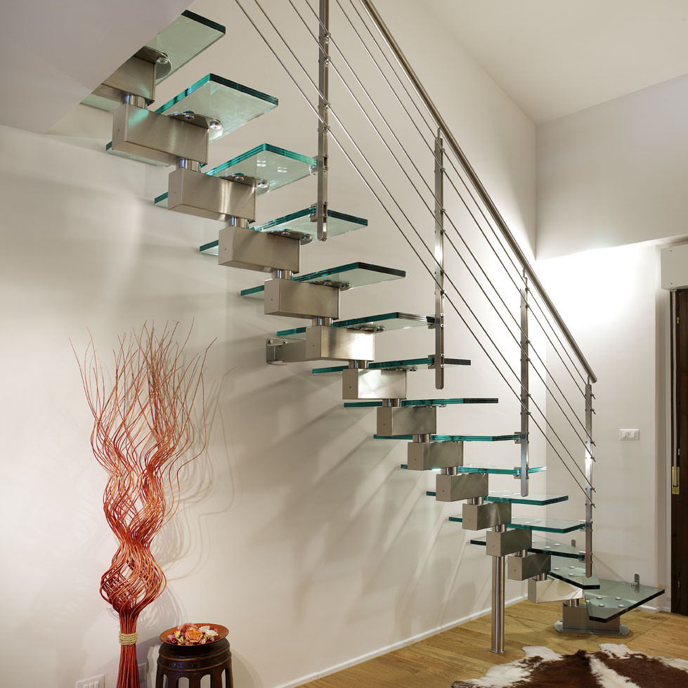 Glass Stairs Ideas Unique and Creative Staircase Designs for Modern Homes