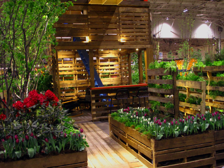 Green Balcony Ideas 10 Diy Garden Ideas for Using Old Pallets Greenhouses Nz