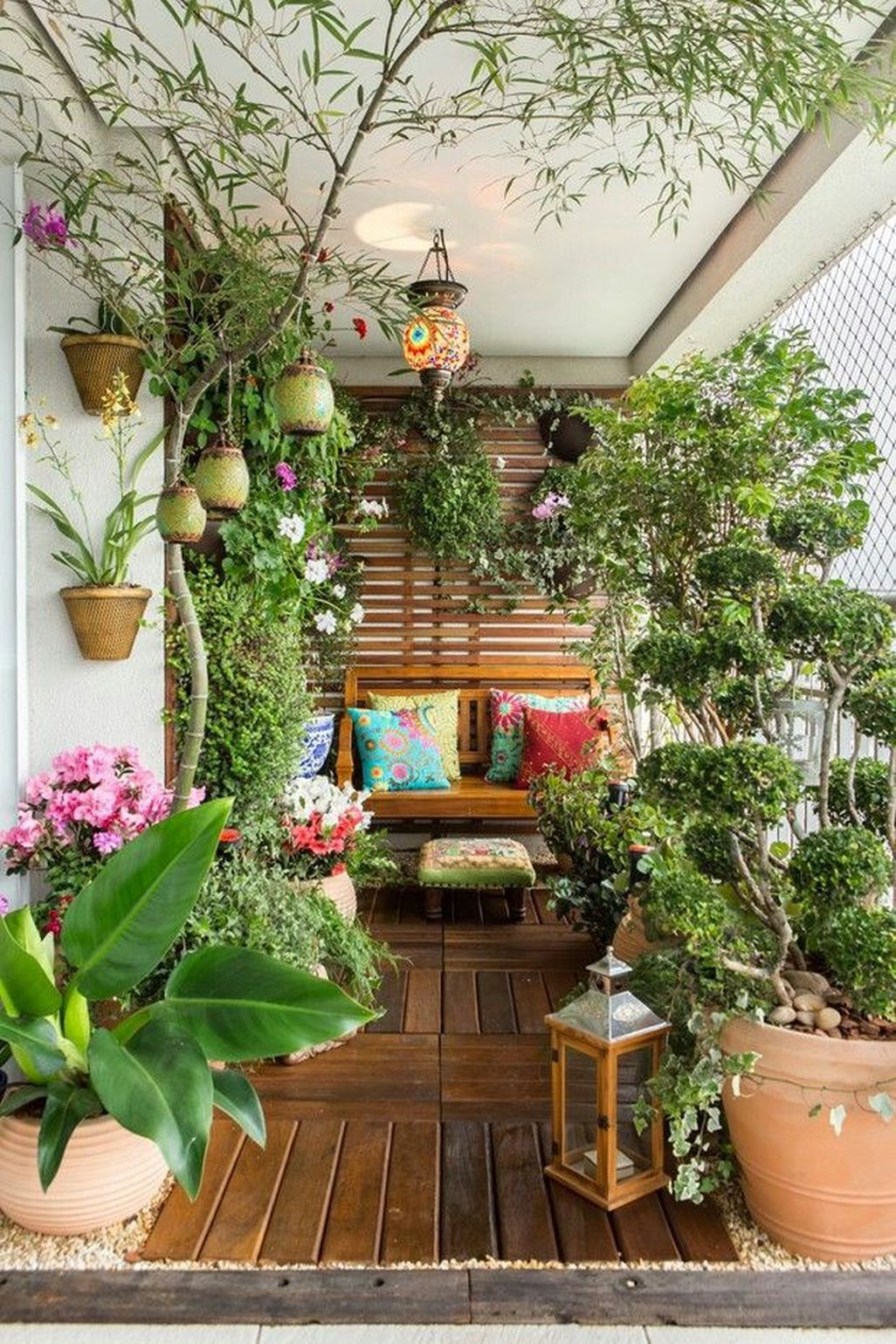 Green Balcony Ideas 41 Cozy and Beautiful Green Balcony Ideas