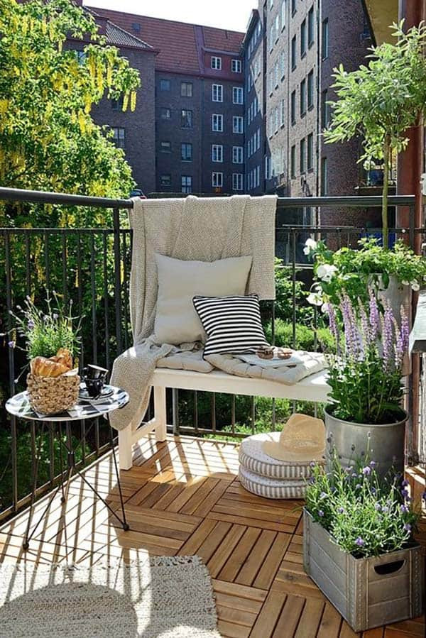 Green Balcony Ideas 55 Super Cool and Breezy Small Balcony Design Ideas