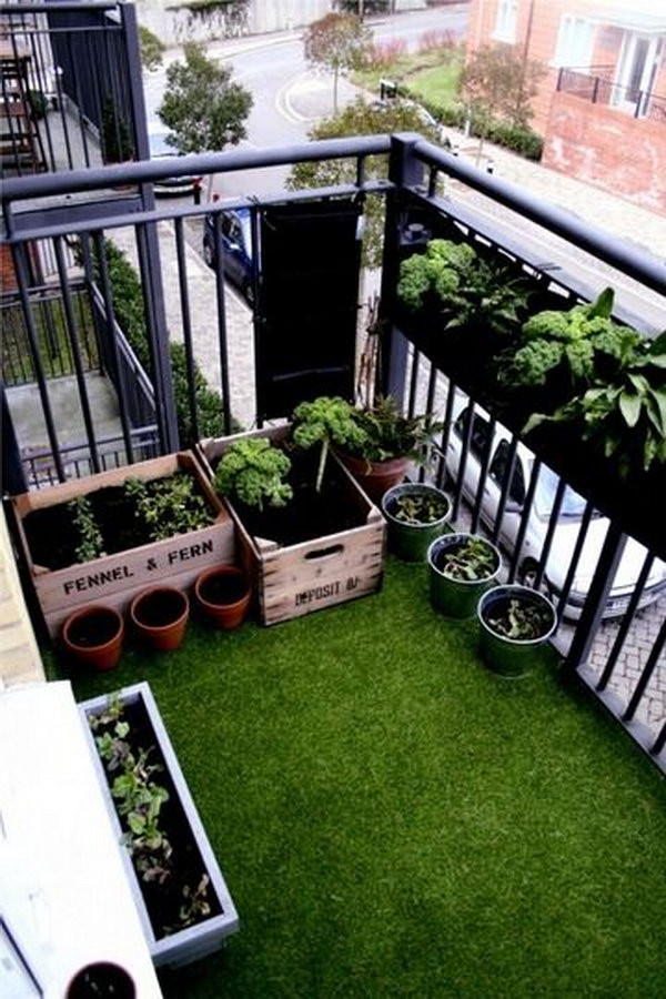 Green Balcony Ideas Balcony Garden Design Ideas Hative