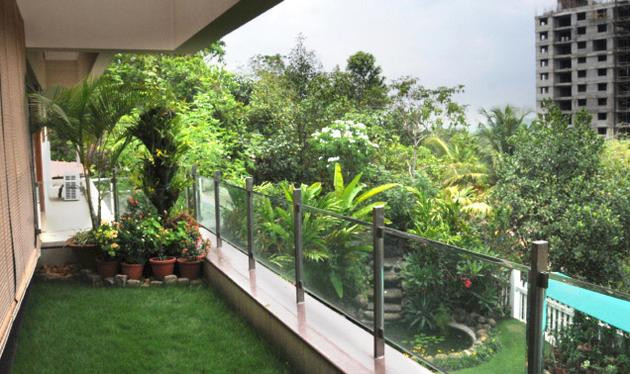 Green Balcony Ideas Green Balconies A New Trend