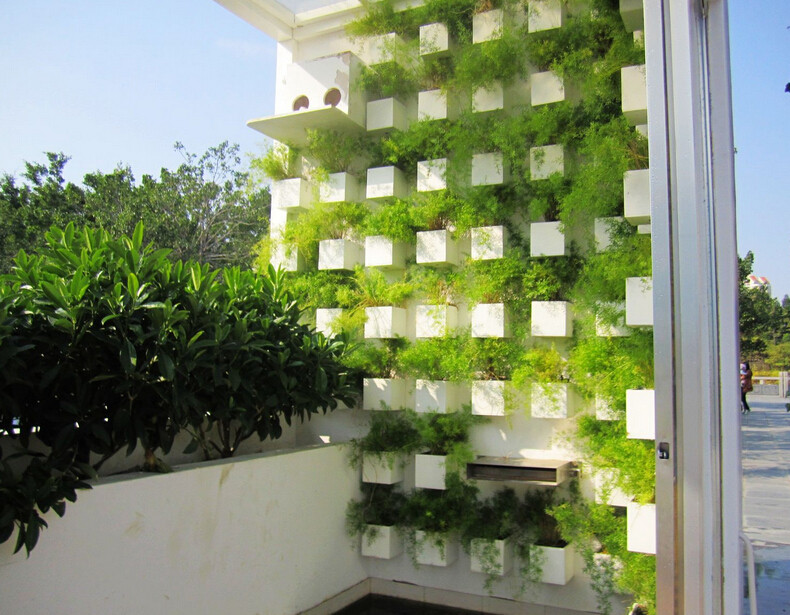Green Balcony Ideas Green Terrace Garden Interior Design