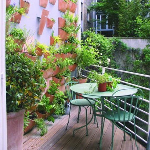 Green Balcony Ideas Small Balcony Design Ideas