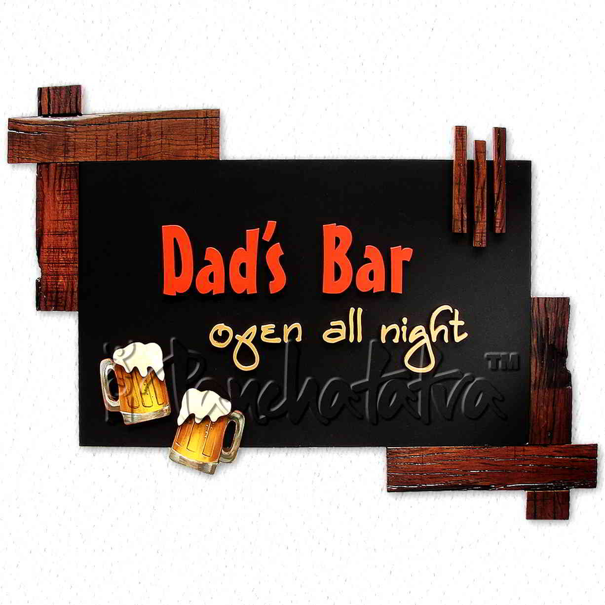 Handmade Wall Decor Buy Rustic Handmade Wall Decoration Art for Dad S Bar