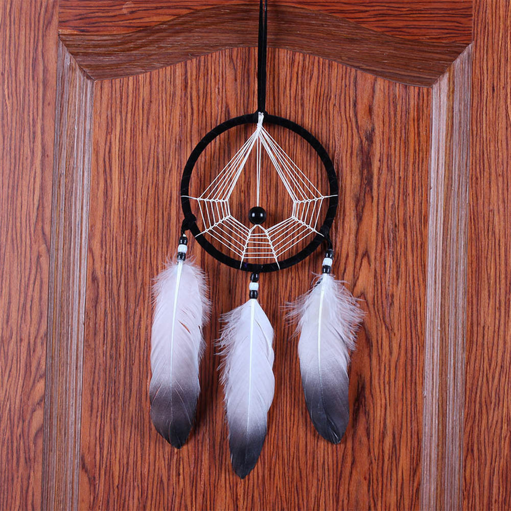 Handmade Wall Decor Handmade Dream Catcher with Feathers Wall Hanging