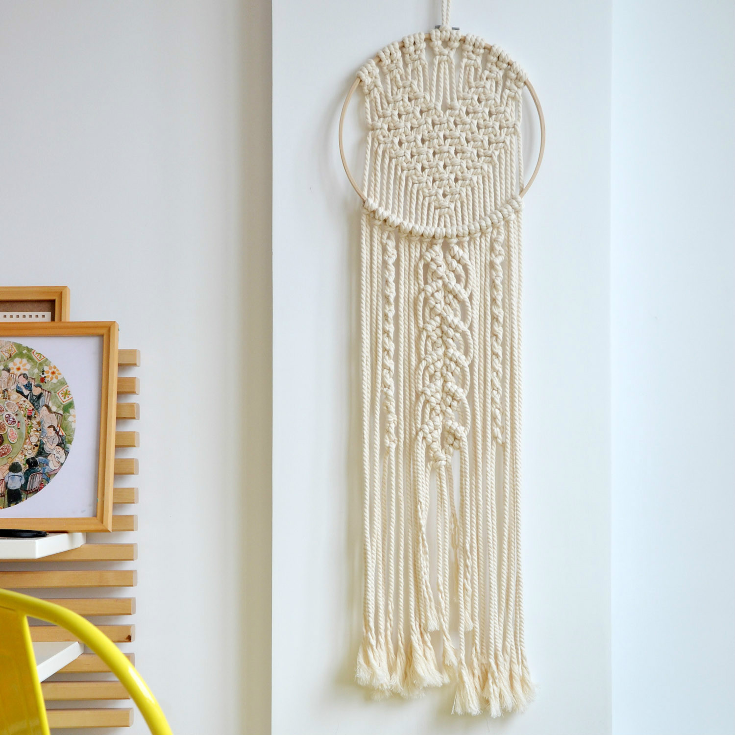 Handmade Wall Decor Macrame Wall Hanging Decoration Wall Art Handmade Tapestry