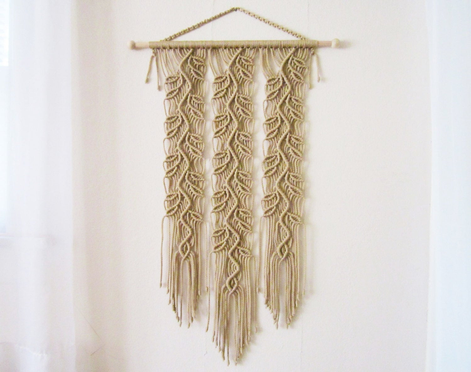 Handmade Wall Decor Macrame Wall Hanging Sprigs 4 Handmade Macrame Home Decor