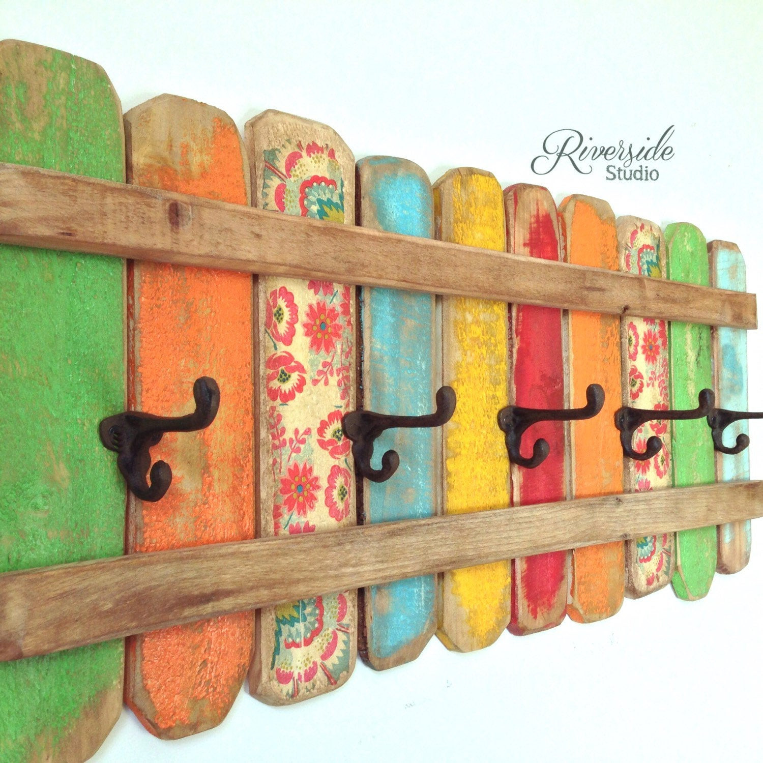Handmade Wall Decor Rustic Coat Rack Wall Art Handmade Reclaimed Wood Coat