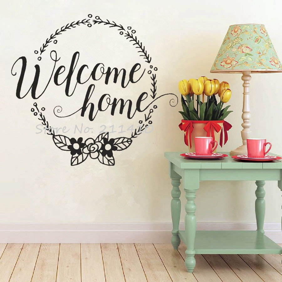Handmade Wall Decor Wel E Home Wall Stickers Home Decor Living Room Family