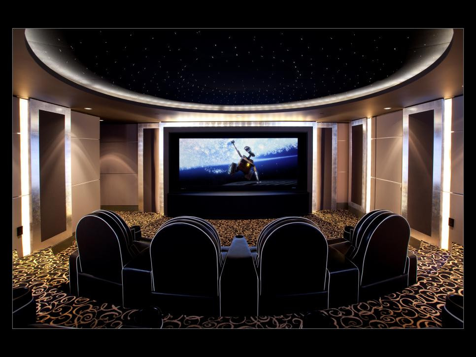Home Cinema Designs 13 High End Home theater Designs