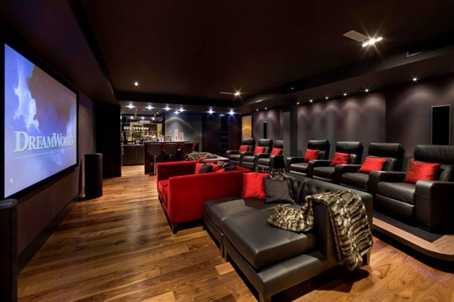 Home Cinema Designs 15 Cool Home theater Design Ideas