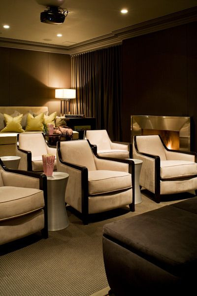 Home Cinema Designs 17 Best Ideas About theater Rooms On Pinterest
