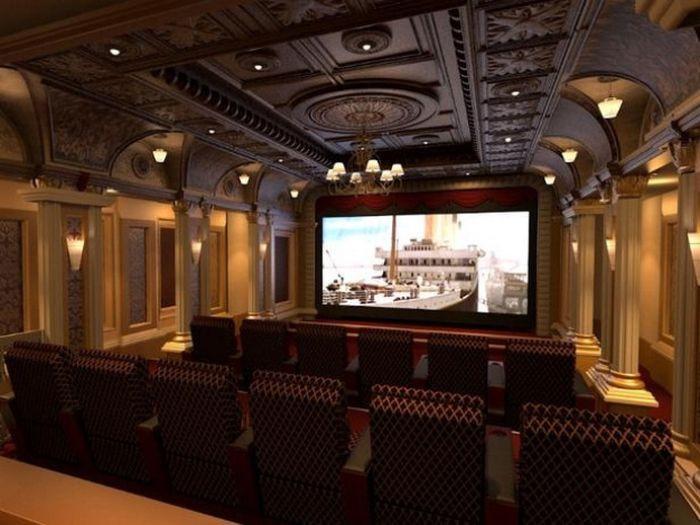 Home Cinema Designs 25 Modi Geniali Di Trasformare Una Stanza Vuota In Un