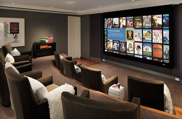 Home Cinema Designs 9 Awesome Media Rooms Designs Decorating Ideas for A