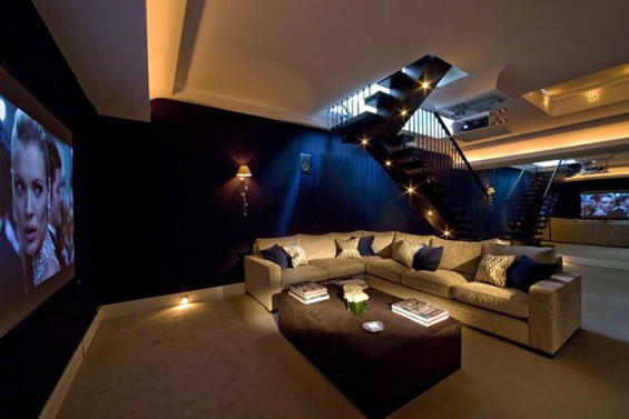 Home Cinema Designs Amazing Home Cinema Designs