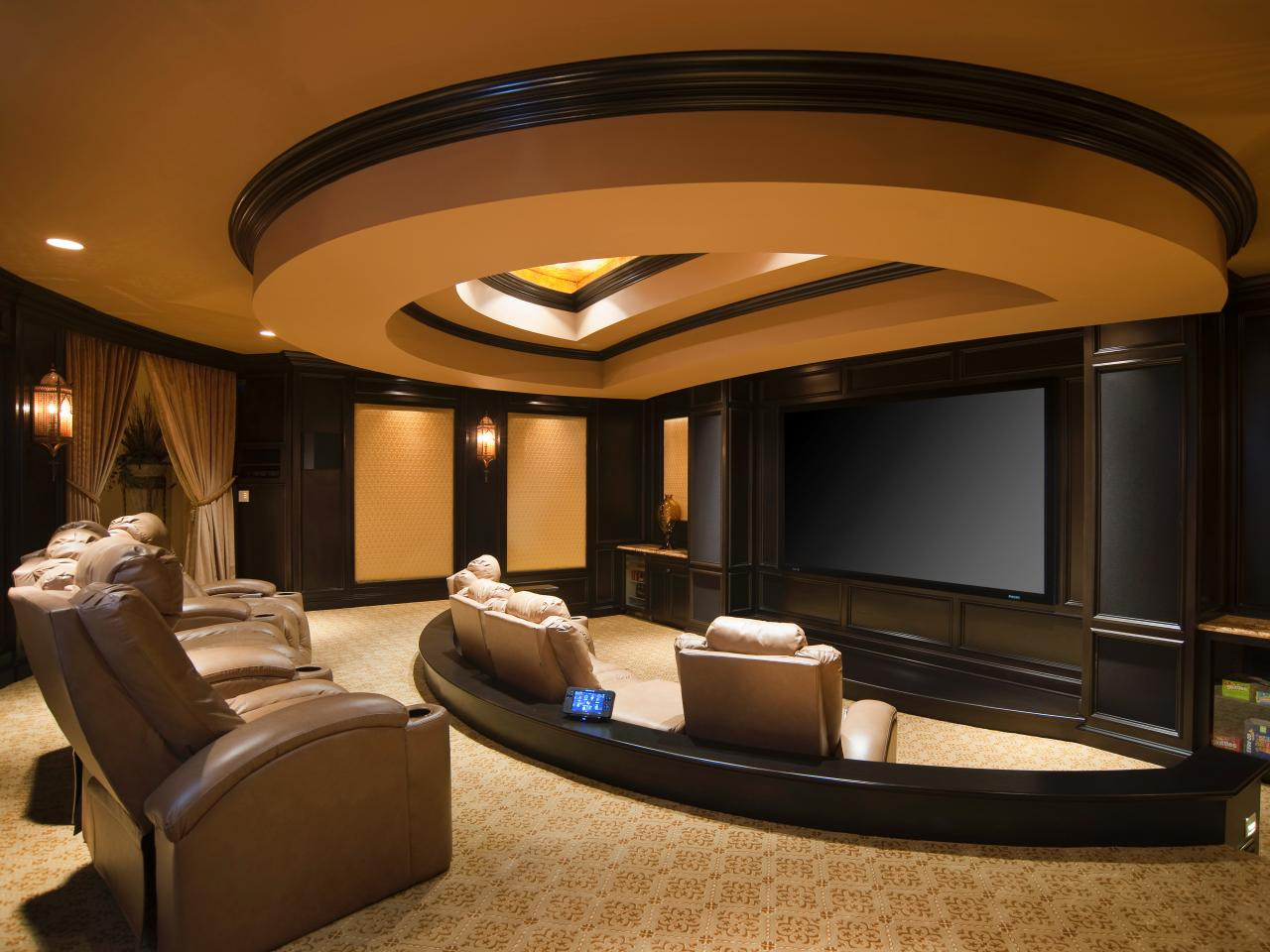Home Cinema Designs Home theater Carpet Ideas Options & Expert Tips