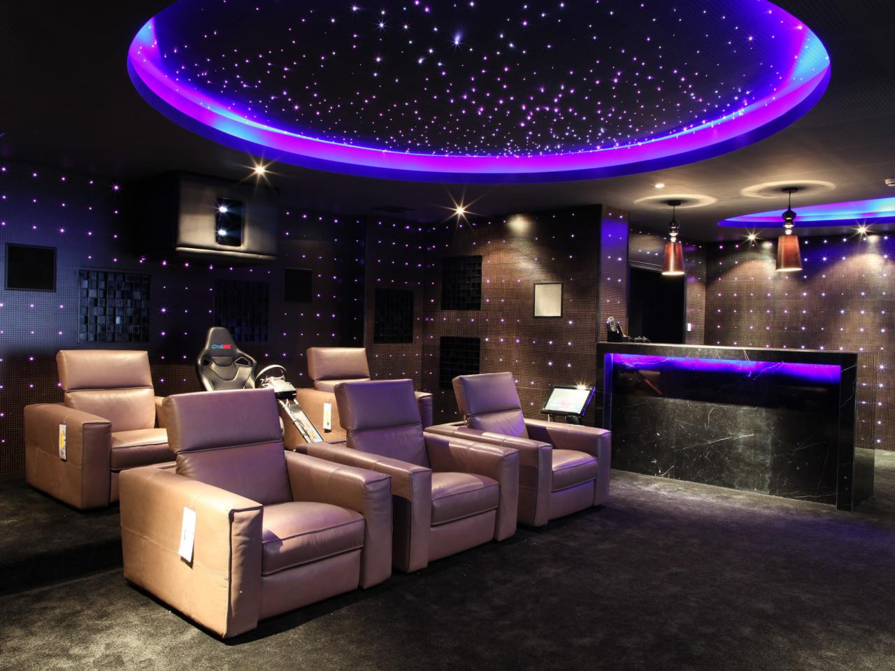 Home Cinema Designs Home theater Design Ideas Tips & Options