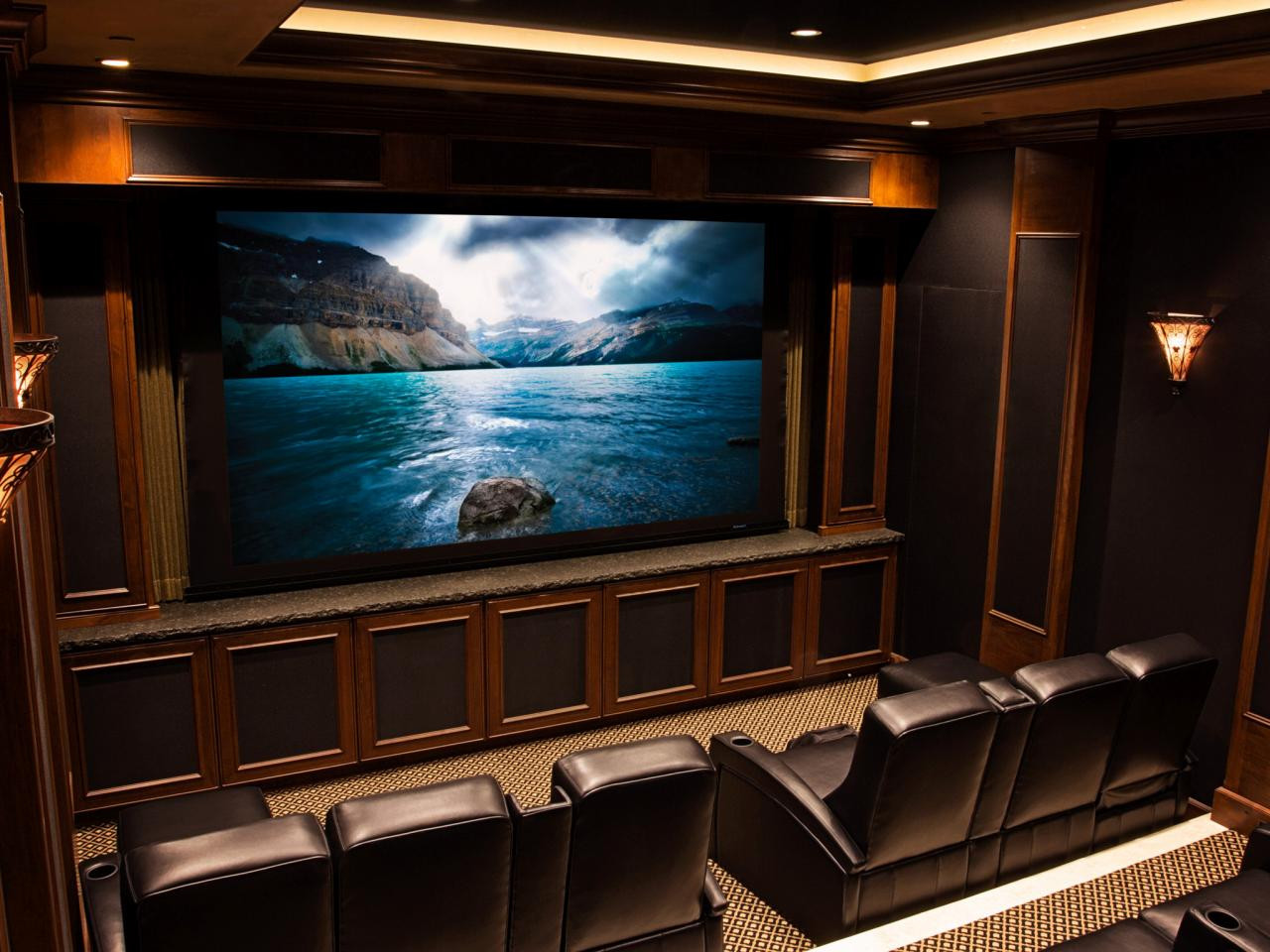 Home Cinema Designs Home theater Wiring Options Tips & Ideas