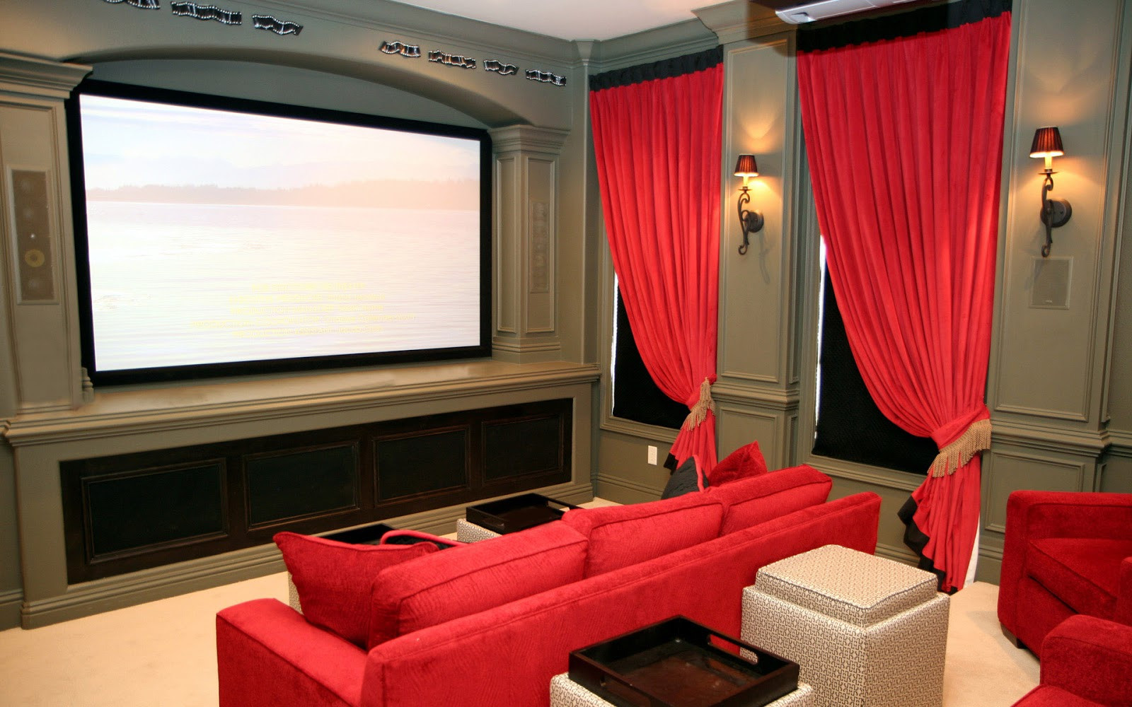 Home Cinema Designs Luxury Home theater
