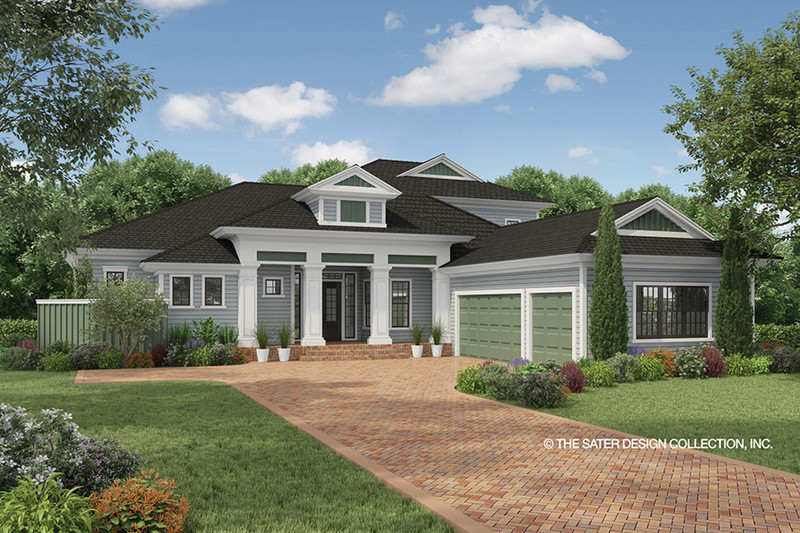 Illustrate Home Designs Country Style House Plan 3 Beds 4 00 Baths 3397 Sq Ft