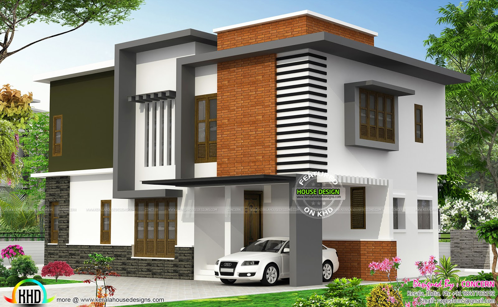 Illustrate Home Designs October 2015 Kerala Home Design and Floor Plans