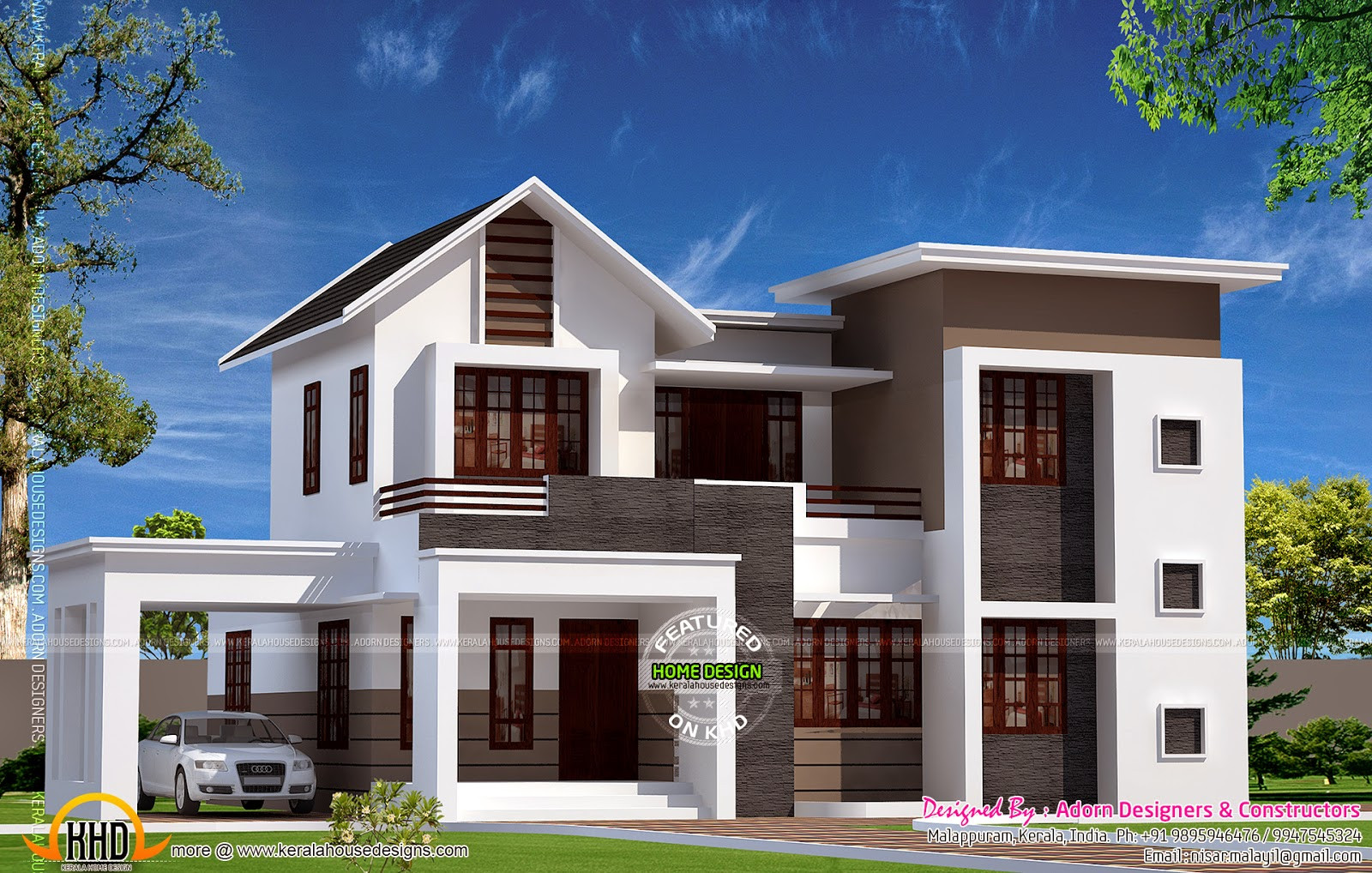 Illustrate Home Designs September Kerala Home Design Floor Plans House Plans